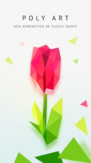 دانلود Poly Artbook - puzzle game 2.1 - بازی پازلی رنگ آمیزی پٌلی آرتبوک برای اندروید و آی او اس