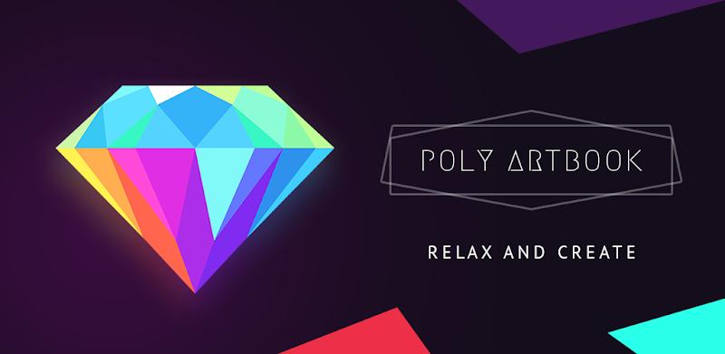 دانلود Poly Artbook - puzzle game - بازی پازلی رنگ آمیزی پٌلی آرتبوک برای اندروید و آی او اس