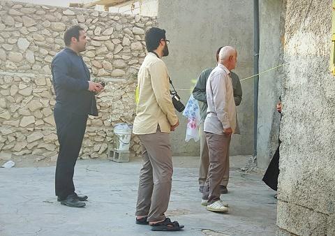 روز گذشته انجام شد؛ دومین مرحله اعزام تیم های شناسایی گروه جهادی افسران ولایت به منطقه بوشکان