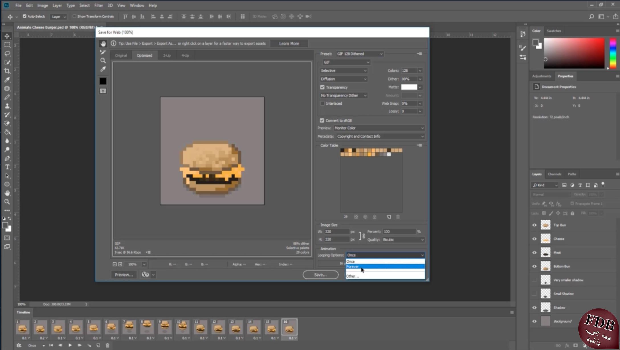 دانلود Udemy Pixel Art In Adobe Photoshop For Beginners – ساخت گرافیک پیکسلی در فتوشاپ
