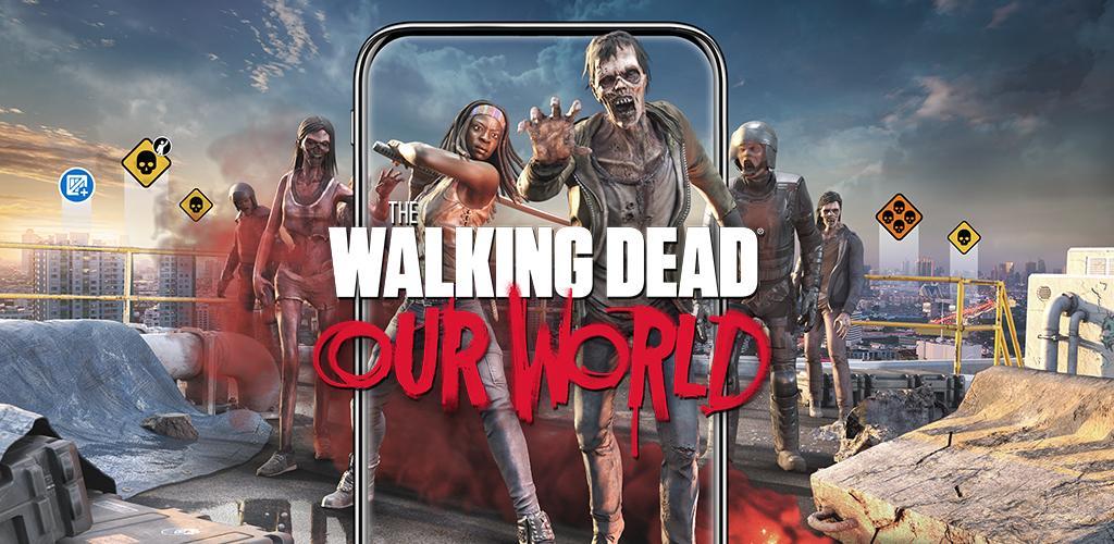 دانلود The Walking Dead: Our World - بازی پیاده روی مرده: جهان ما برای اندروید و آی او اس