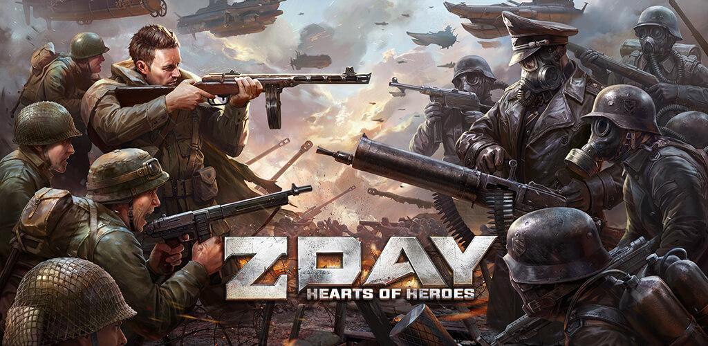 دانلود Z Day: Hearts of Heroes - بازی اکشن آخرین روز: قلب های قهرمان برای اندروید