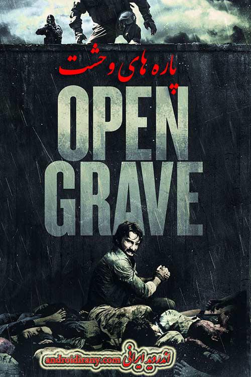 دانلود دوبله فارسی فیلم پاره های وحشت Open Grave 2013