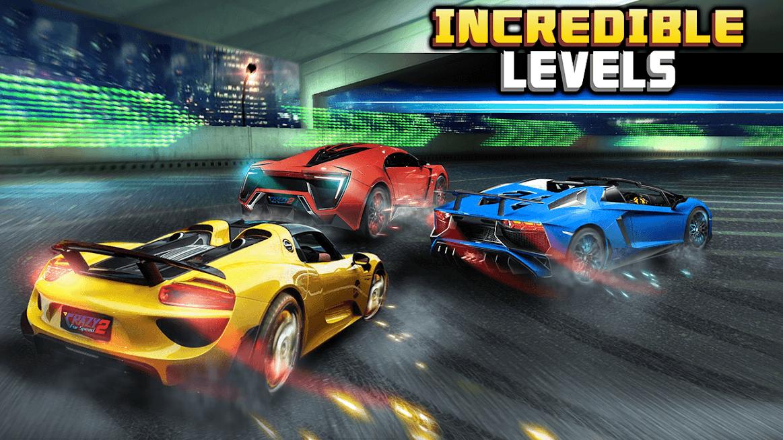 دانلود Crazy for Speed 2 1.2.3182 - بازی مسابقه ای دیوانه سرعت 2 برای اندروید + مود