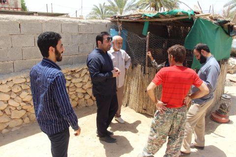 گزارش تصویری از دومین مرحله اعزام تیم های شناسایی گروه جهادی افسران ولایت به منطقه بوشکان