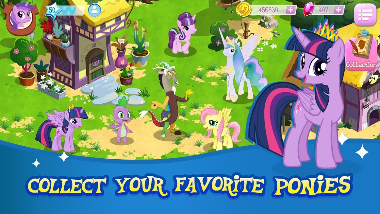 دانلود MY LITTLE PONY: Magic Princess 4.5.1G - بازی اسب کوچک من: پرنسس جادویی اندروید + مود