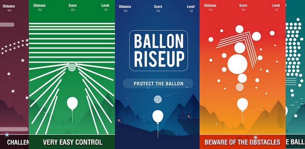 دانلود Rise Up Balloon - Challenge Runner - بازی آرکید بالا بردن بادکنک برای اندروید و آی او اس