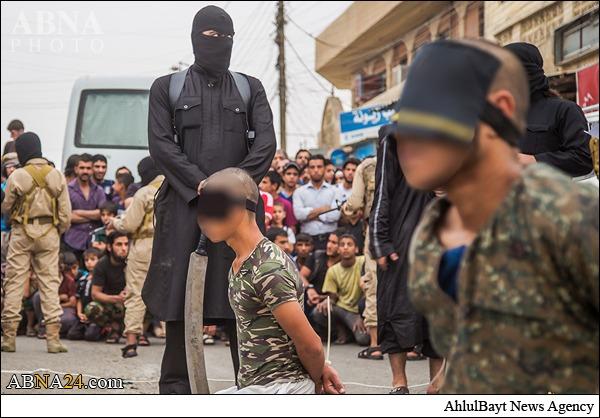 داعش پی در پی فقط سر می برد.