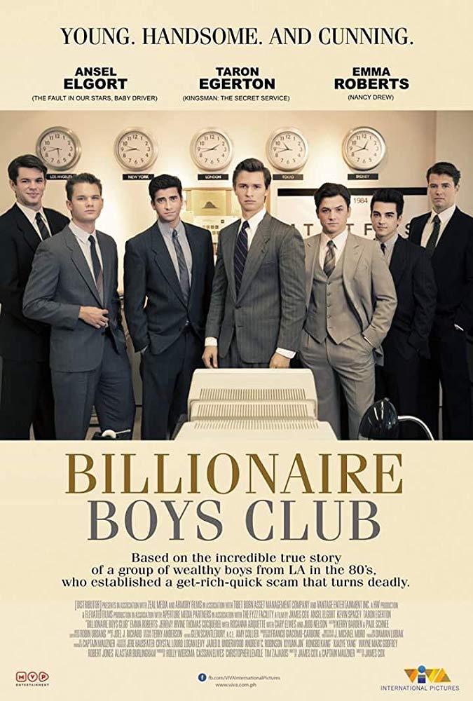 دانلود فیلم Billionaire Boys Club 2018 با زیرنویس فارسی