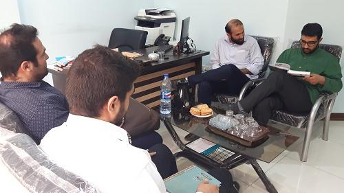 گزارش تصویری از جلسه مسئول گروه جهادی افسران ولایت با اعضای ستاد اقتصاد مقاومتی