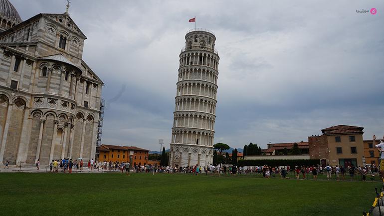 برج کج پیزا در ایتالیا