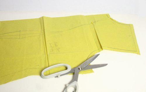 روش آسان الگوی لباس تولیدی