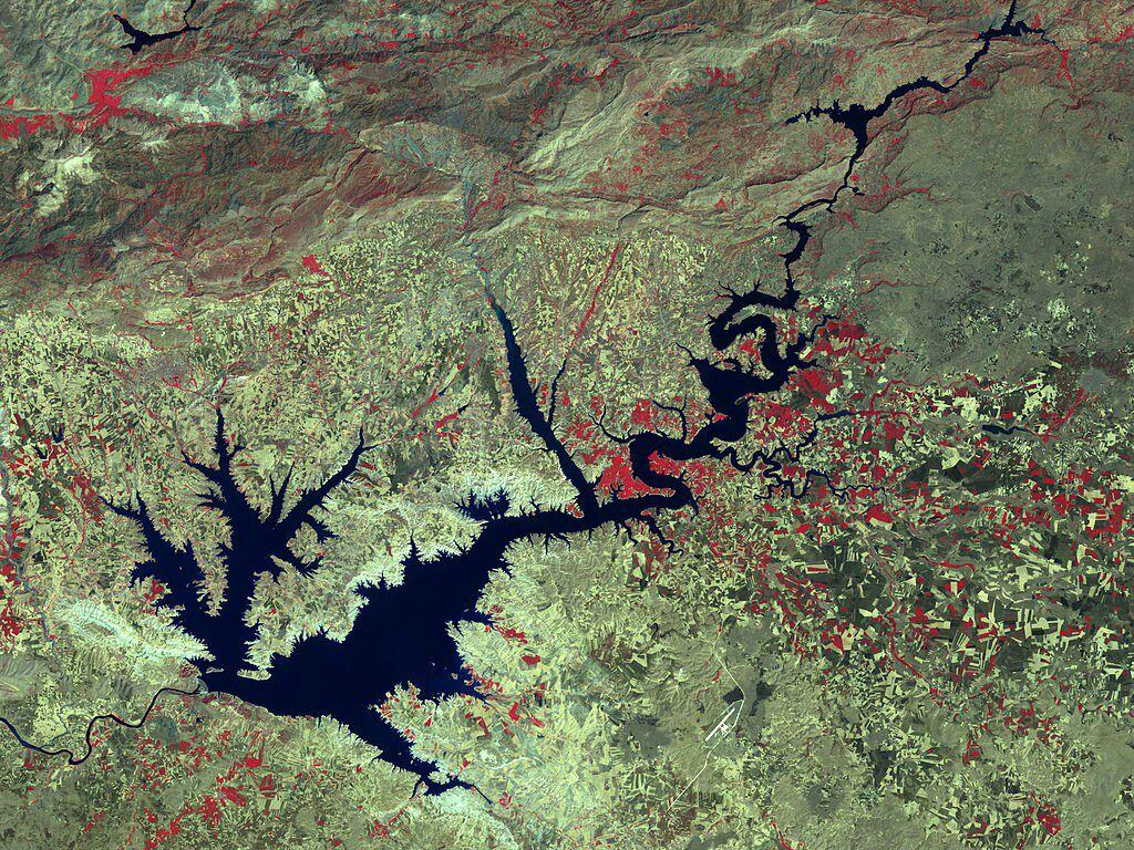 ⭕️ دریاچه سد آتاتورک ترکیه