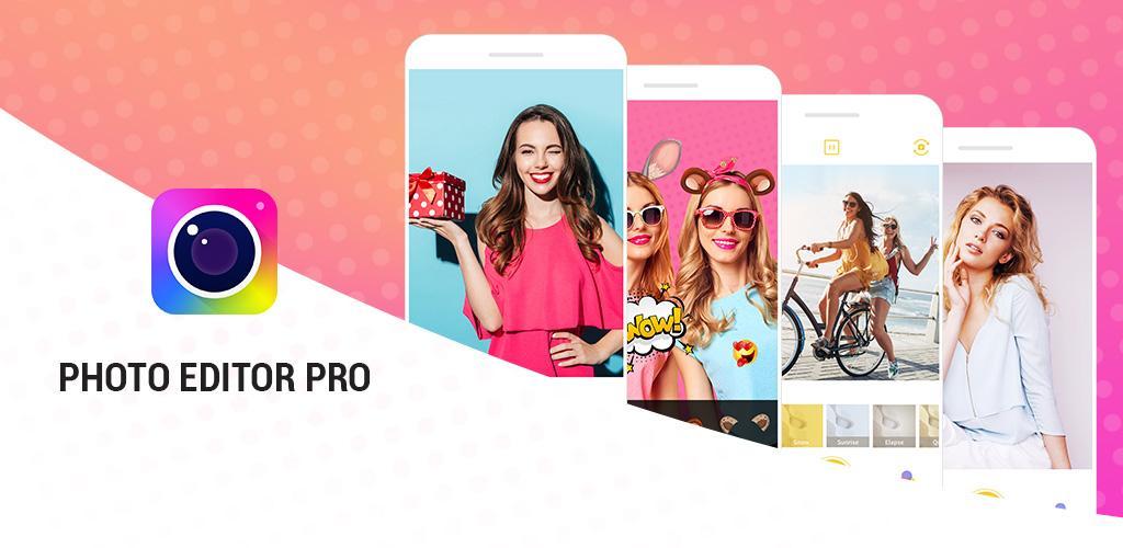 دانلود Photo Editor Pro – Sticker, Filter, Collage Maker - برنامه ویرایش عکس اندروید
