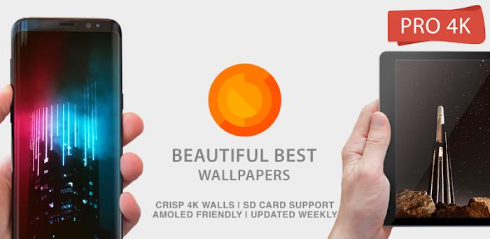 دانلود Best 4K Wallpapers for Android PRO - مجموعه والپیپر با کیفیت و شیک برای اندروید