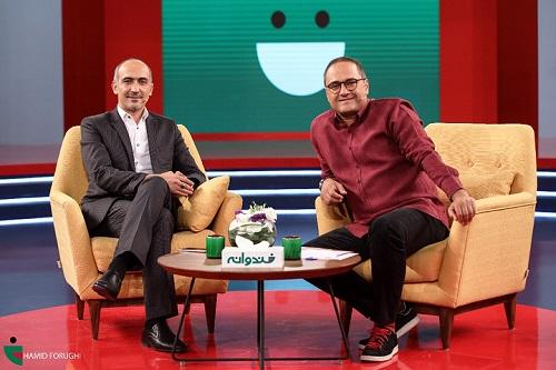 برنامه خندوانه با حضور هادی حجازی فر و جناب خان 29 تیر 97