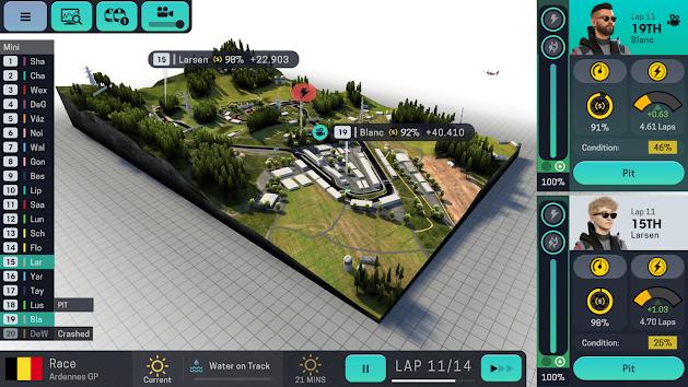 دانلود Motorsport Manager Mobile 3 1.0.3 - بازی موتور اسپورت منیجر موبایل 3 برای اندروید + مود + دیتا