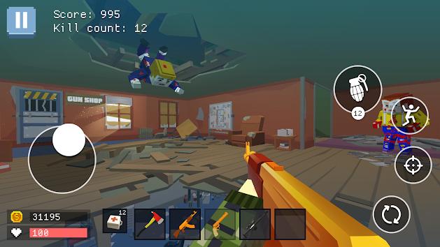 دانلود Pixel Combat: World of Guns 1.5 - بازی پیکسل کامبت: جهان سلاح ها برای اندروید + مود