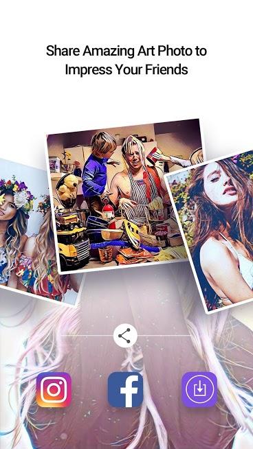 دانلود Picas - Art Photo Filter, Picture Filter 2.0.3 - برنامه ویرایش هنری تصاویر برای اندروید