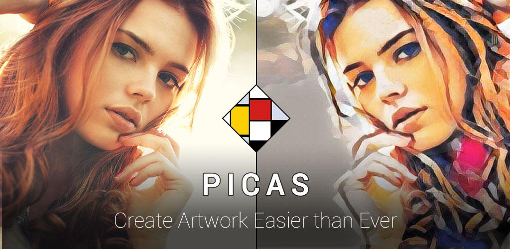 دانلود Picas - Art Photo Filter, Picture Filter - برنامه ویرایش هنری تصاویر برای اندروید