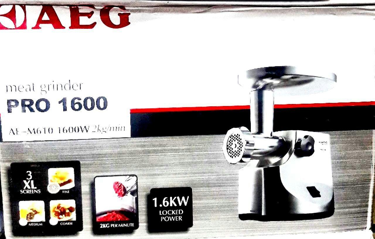 چرخ گوشت گیربوکسی AEG المان  Made in Germany🇩🇪🇩🇪