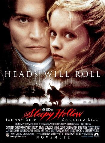 دانلود فیلم سوار بی سر با دوبله فارسی Sleepy Hollow 1999