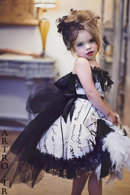 مدل های لباس مجلسی دخترانه 2019