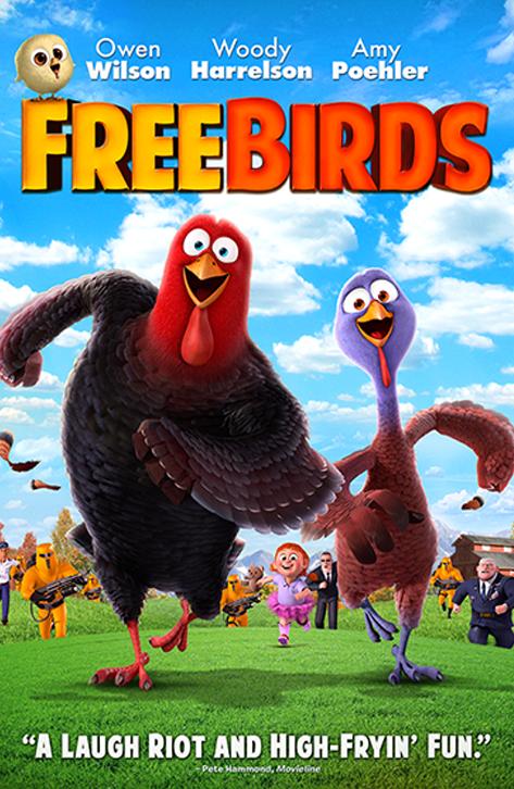 دانلود انیمیشن پرندگان آزاد 2013 دوبله فارسی و سانسور