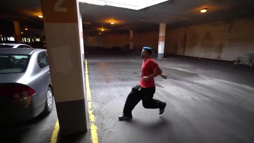 ویدیو های ورزش پارکور و هیجان