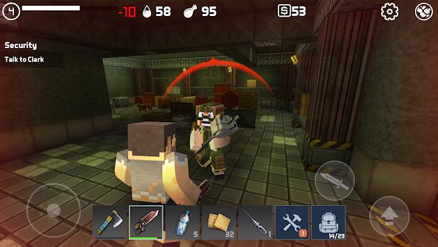 دانلود LastCraft Survival 1.3.5 - بازی اکشن آخرین امید زنده ماندن برای اندروید