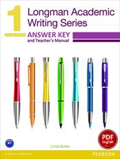 دانلود پاسخ Longman Academic Writing Series 1