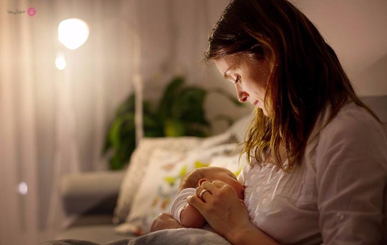 گرفتن بچه از شیر مادر