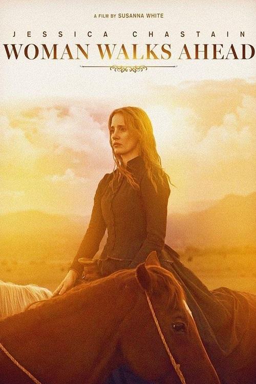 دانلود فیلم Woman Walks Ahead 2017 با زیرنویس فارسی