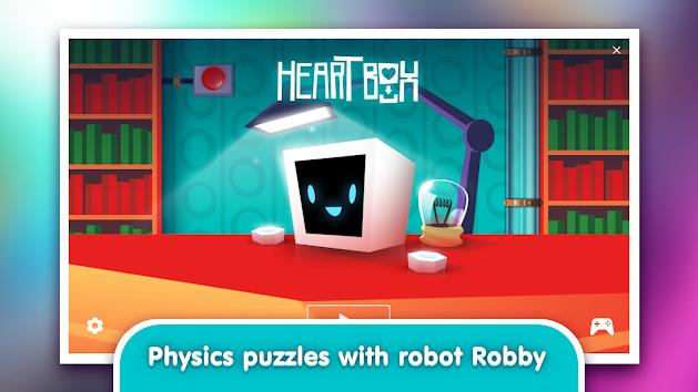 دانلود Heart Box - Physics Puzzles 0.2.20 - بازی قلب جعبه - پازل فیزیک برای اندروید