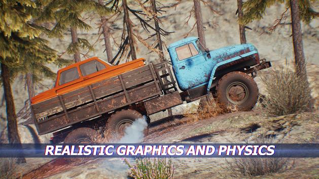 دانلود TRAIL CLIMB 1.09 - بازی ریسینگ صعود ماشین ها و کامیون ها برای اندروید + دیتا