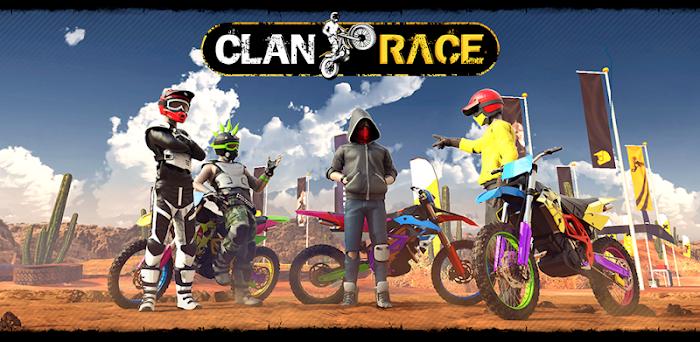 دانلود Clan Race -بازی مسابقات موتور سواری برای اندروید و آی او اس + دیتا