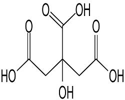 طرح توجیهی تولید اسید سیتریک