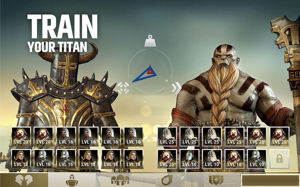 دانلود Dawn of Titans 1.24.4 - بازی استراتژی ظهور تایتان ها برای اندروید و آی او اس + مود + دیتا