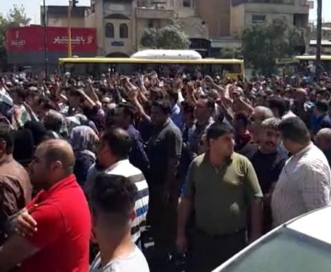گزارش میدانی فارس از تجمع شیرازیها در اعتراض به گرانی