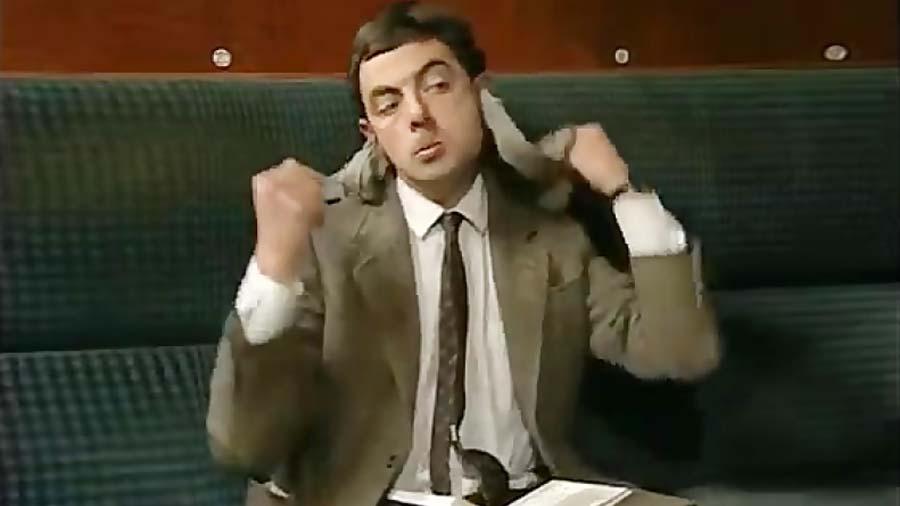 کلیپهای خنده دار | آقای Bean مستربین