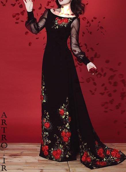 مدل لباس مجلسی شیک و باکلاس زنانه 2019