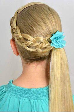 مدل مو بچه گانه دختر برای عروسی | مدل بستن موی دختر بچه