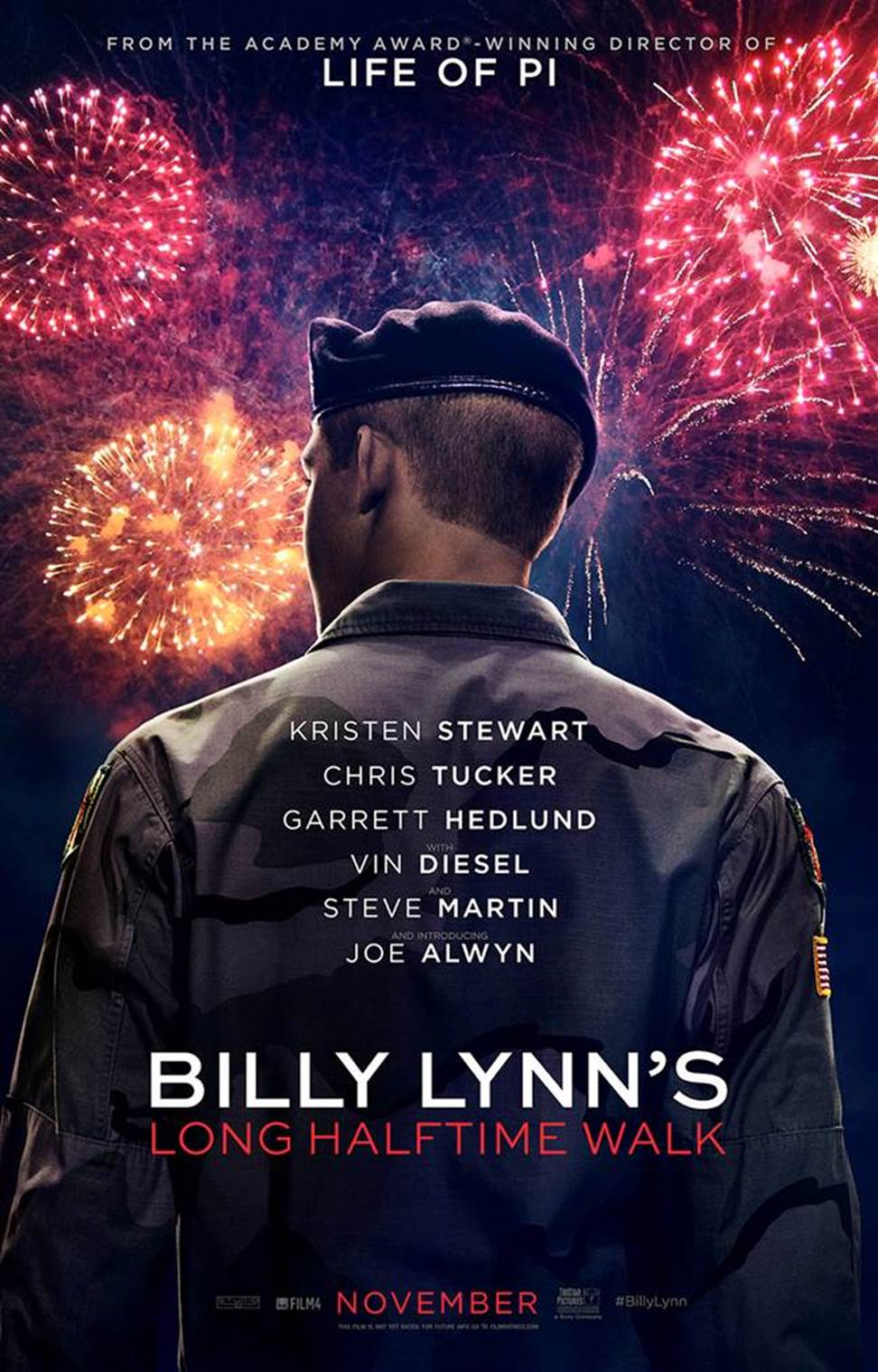 فیلم Billy Lynn's Long Halftime Walk 2016 دوبله فارسی