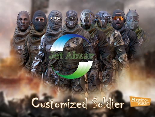 پکیج PBR Customized Soldier