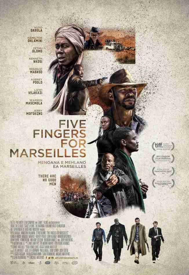 دانلود فیلم Five Fingers For Marseilles 2017 با زیرنویس فارسی