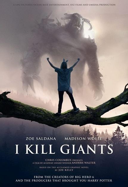 دانلود فیلم I Kill Giants 2017 با زیرنویس فارسی
