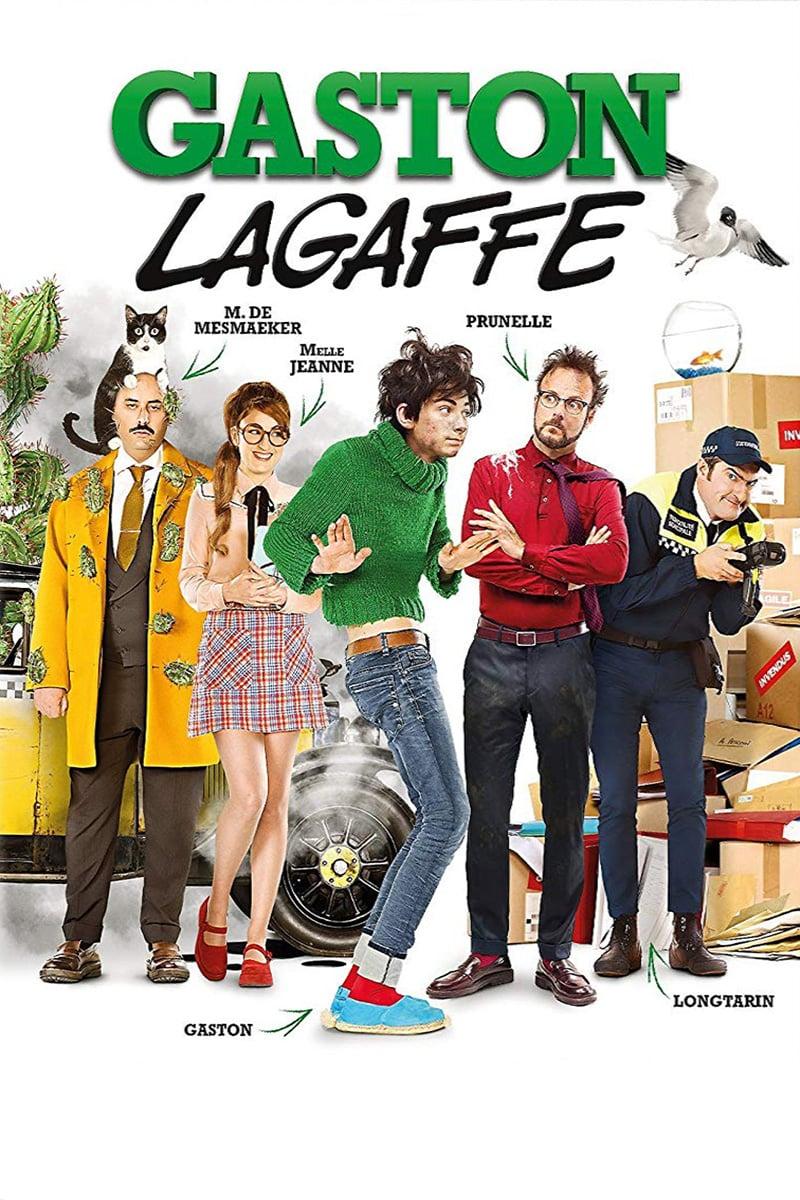 دانلود فیلم Gaston Lagaffe 2018 با زیرنویس فارسی