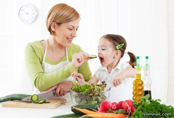 12 غذای مناسب که باعث افزایش هوش کودک می شود