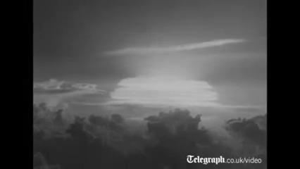 تصاویر واقعی از حمله اتمی به هیروشیما