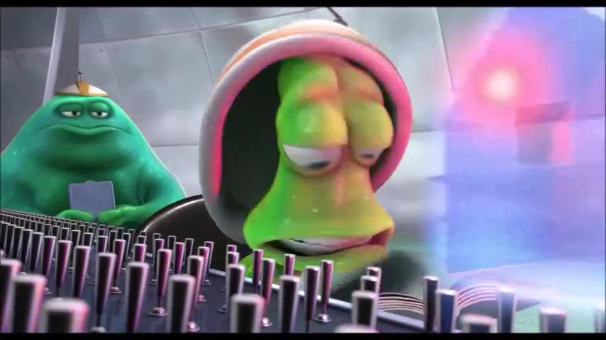 انیمیشن ادم فضایی تازه کار